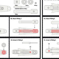 Northern Diver BCD/PFD Knife Instructions