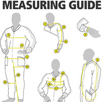 Northern Diver Drysuit Measuring Guide
